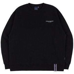 RMTCRW SLOGAN SWEAT SHIRT_BLACK