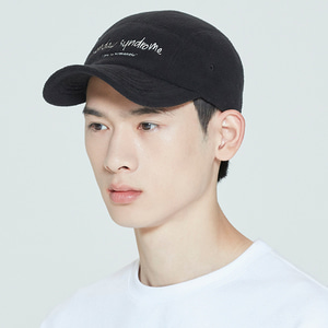SUNDAY SYNDROME CAMP CAP_BLACK