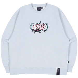CHECKLIST SWEATSHIRT_SKY BLUE