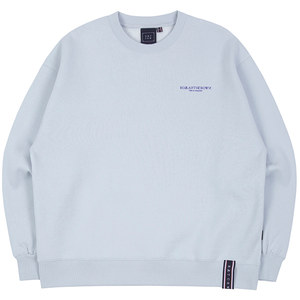 RMTCRW SLOGAN SWEAT SHIRT_SKY BLUE