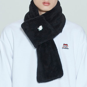 FLEECE MUFFLER_BLACK