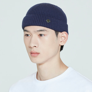 LAUREL LOGO WATCH CAP_NAVY