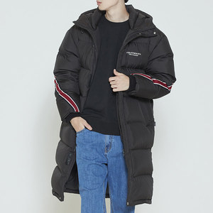 BANDLINE DUCK DOWN BENCH PARKA_BLACK
