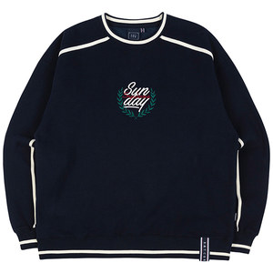 SHOULDER LINE SWEATSHIRT_NAVY