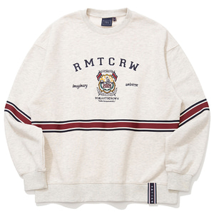 RMTC CLUB SWEAT SHIRT_MELANGE IVORY