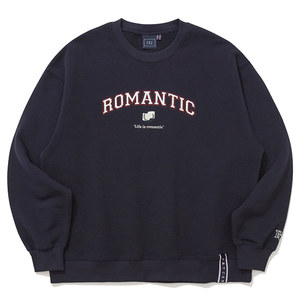 ARCH LOGO SWEAT SHIRT_NAVY