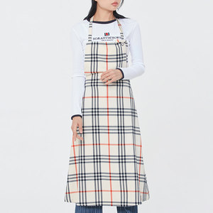 WOMAN APRON DRESS_OATMEAL