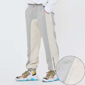 REVERSE STITCH SWEAT PANTS_GREY