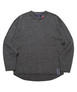 BASIC KNIT LONG SLEEVES_CHARCOAL