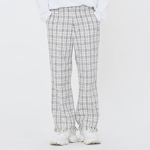 TWEED PANTS_OATMEAL