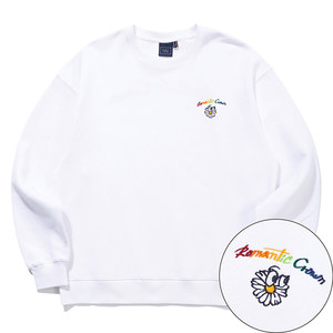 RAINBOW LOGO SWEAT SHIRT_WHITE