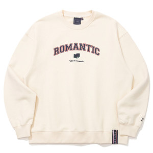 ARCH LOGO SWEAT SHIRT_OATMEAL