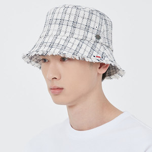 TWEED BUCKET HAT_OATMEAL