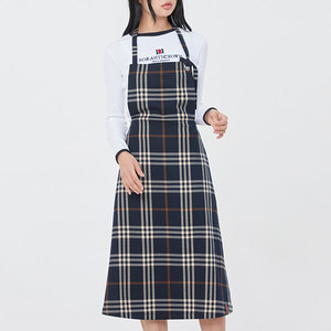 WOMAN APRON DRESS_NAVY