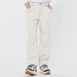 BASIC COTTON PANTS_OATMEAL
