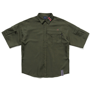 RELAX POCKET SHIRT_KHAKI