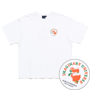 COLOR DOT ORANGE TEE_WHITE
