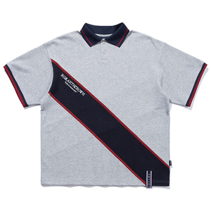 RMTC LOGO LINE POLO_GREY