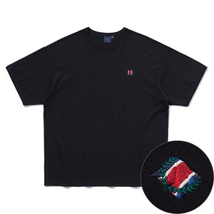 CEREMONY FLAG TEE_BLACK