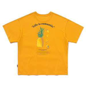 COLOR DOT PINEAPPLE TEE_YELLOW
