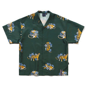 AMUR TIGER SHIRT_GREEN