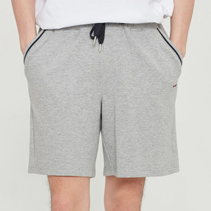 POCKET RIBBED SHORTS_GREY