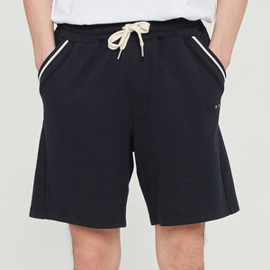POCKET RIBBED SHORTS_NAVY